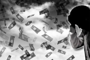 借金に伴ううつ病
