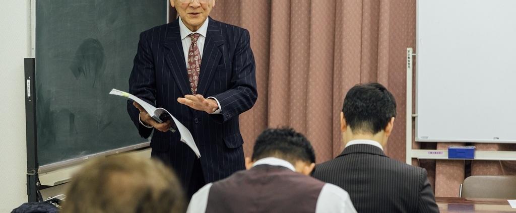 経営真理を学ぶ参加者